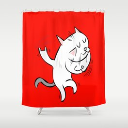 rockcat Shower Curtain