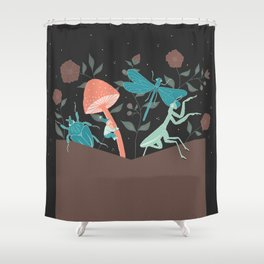 Seeds Shower Curtain