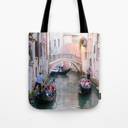 Exploring Venice by Gondola Tote Bag