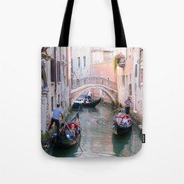 Exploring Venice by Gondola Tote Bag