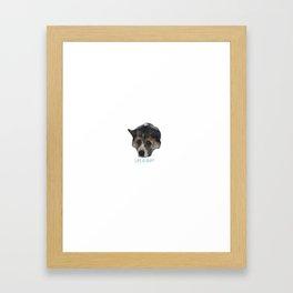 Life is ruff Framed Art Print