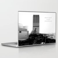 atlanta Laptop & iPad Skins featuring Rebirth Atlanta by Invert The World