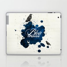 Bleu Corbeau Laptop & iPad Skin