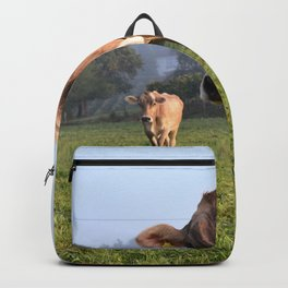 Cows in a Field Backpack