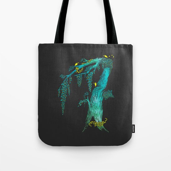 Tree Birds Tote Bag