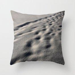 Snow Blindness Throw Pillow