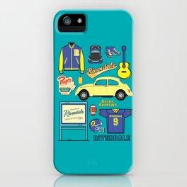 Archie Andrews Riverdale set iPhone Case