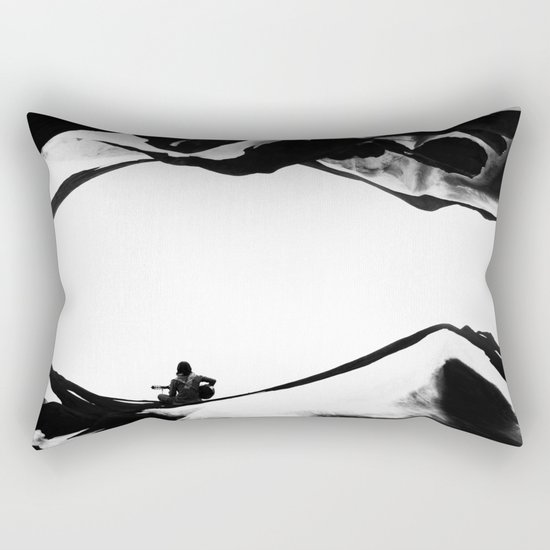 Song of isolation Rectangular Pillow