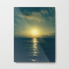 Even the end is beautiful Metal Print