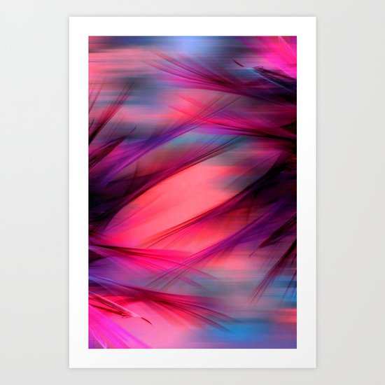 Summer Sky Abstract Art Print
