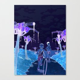 Slash and Burn Canvas Print