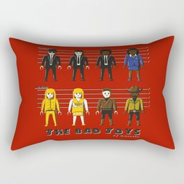 The bad toys Rectangular Pillow