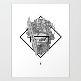 New times, Old Blades Art Print