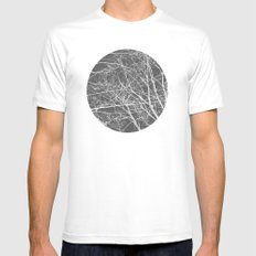 Negative 2 Mens Fitted Tee White MEDIUM