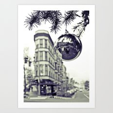 Downtown decoration Art Print