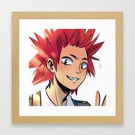 Kirishima Framed Art Print