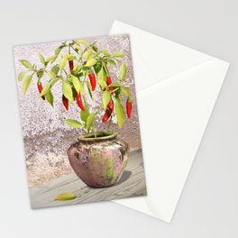 Thai Peppers Stationery Cards