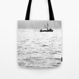 """Fishing Boat 5"" by Murray Bolesta Tote Bag"