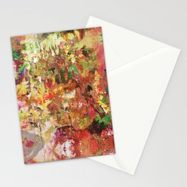 Floral Frenzy Stationery Cards