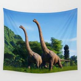 Jurassic Dinosaurs Evolution Wall Tapestry