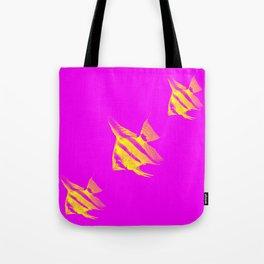 Fishs 3 Tote Bag