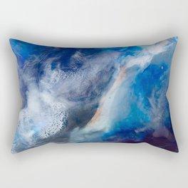 Proteus Abstract Fluid Painting Rectangular Pillow