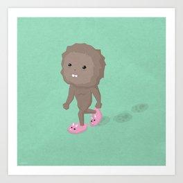 Accidental Legends: Bigfoot Art Print