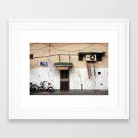 china Framed Art Prints featuring CHINA by Sara Ahlgren
