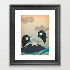 v u l c a n o Framed Art Print