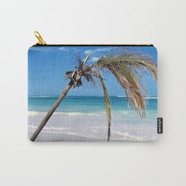 Landscape | Palm and Beach | Life's a Beach! | Nadia Bonello Carry-All Pouch