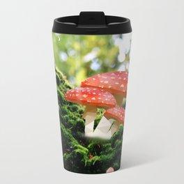 Low Poly Mushroom Travel Mug