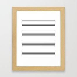 The Musician Framed Art Print