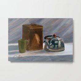 Tea Time DP170331a-14 Metal Print