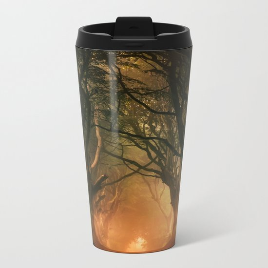 When the day begins... Metal Travel Mug