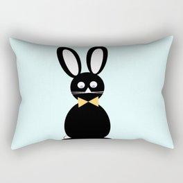 Chocolate Easter Bunny Rectangular Pillow