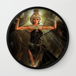 The Light Of Egypt Wall Clock