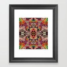 BBQSHOES™ Fractal Digital Art Design 1173A Framed Art Print
