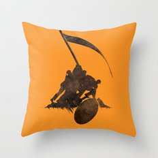 Raising the Volume Throw Pillow