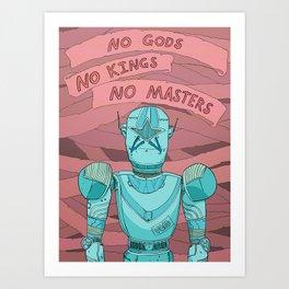 RogueBot Art Print