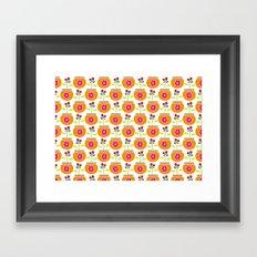 Flower Pots Framed Art Print