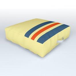 Classic Retro Stripes Amabie Outdoor Floor Cushion