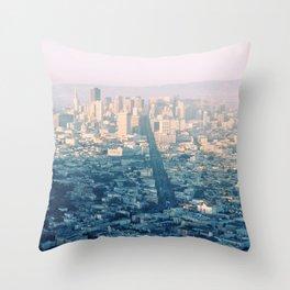San-Francisco city Throw Pillow