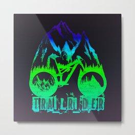 Trailrider Metal Print