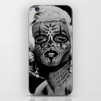 monroe iPhone & iPod Skins featuring Monroe by mothafuc