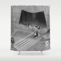 melbourne Shower Curtains featuring Melbourne Life by christianmoso