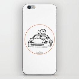 Crazy Car Art 0202 iPhone Skin
