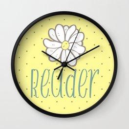 Reader Life Wall Clock
