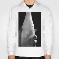 coca cola Hoodies featuring Coca-Cola Ink by The Newsie
