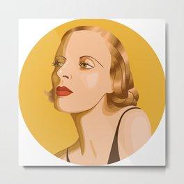 Queer Portrait - Tamara De Lempicka Metal Print