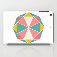 polygon iPad Cases featuring Polygon by Juste Pixx Designs